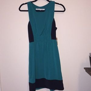 Rachel by Rachel Roy Color Block Dress Green 2